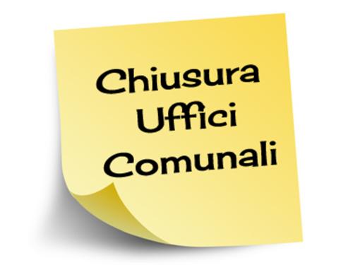 AVVISO CHIUSURA UFFICIO TRIBUTI